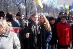 Миколаївці взяли участь у вшанування Вячеслава Чорновола в Києві