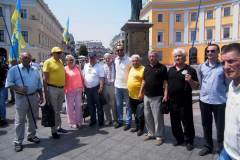 Рухівське море ідей та прапорів накрило Одесу