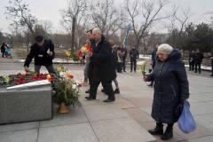 Рухівці та миколаївські патріоти вшанували Кобзаря