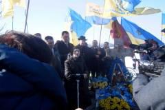 Українці вшанували Героя України, голову Народного Руху України В'ячеслава Чорновола на місці його загибелі