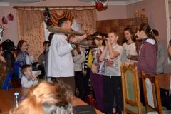 Закарпаття госинно зустріло колядників з Миколаєва