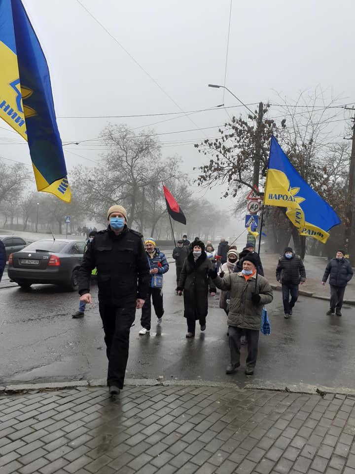 День Соборності в Миколаєві - 2